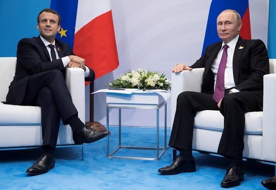 Телефонные переговоры Путина и Макрона состоялись по инициативе французской стороны