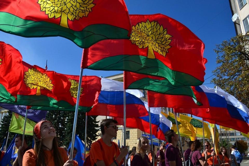 Парад студенчества в Липецке
