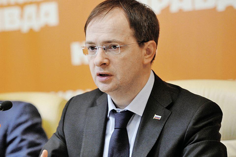 Министр культуры России Владимир Мединский.