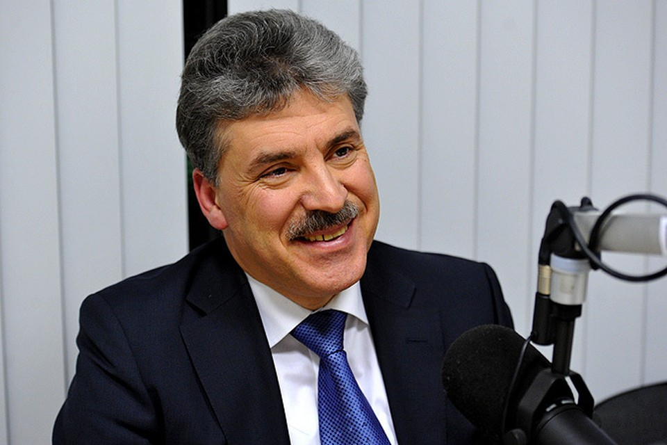 Павел Грудинин, кандидат в Президенты РФ