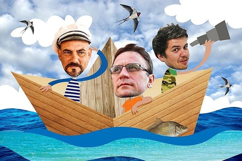 Дмитрий Стешин, Владимир Ворсобин и Виктор Гусейнов решили дойти по Волге от Казани до Астрахани