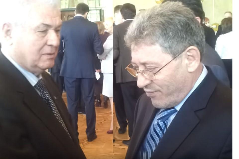 Владимир Воронин и Михай Гимпу