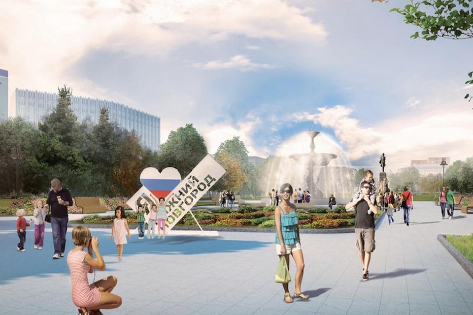На реконструкцию площади выделят порядка 80 миллионов рублей