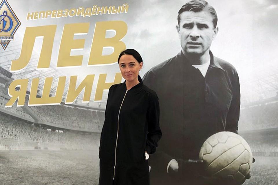 Наталья Вяльцева на презентации фильма