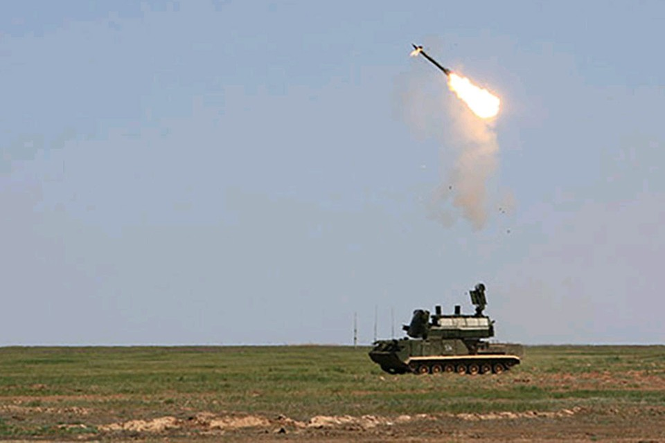 Боевые стрельбы «Тор-М2». Фото Минобороны РФ