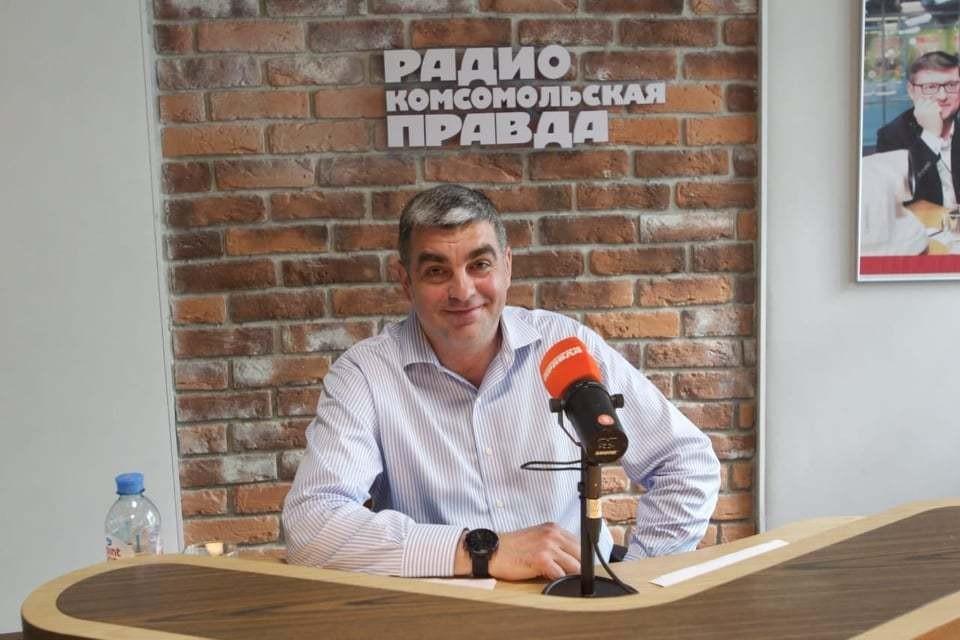 Директор Центра развития водохозяйственного комплекса России Сергей Будилин в студии Радио «Комсомольская правда».