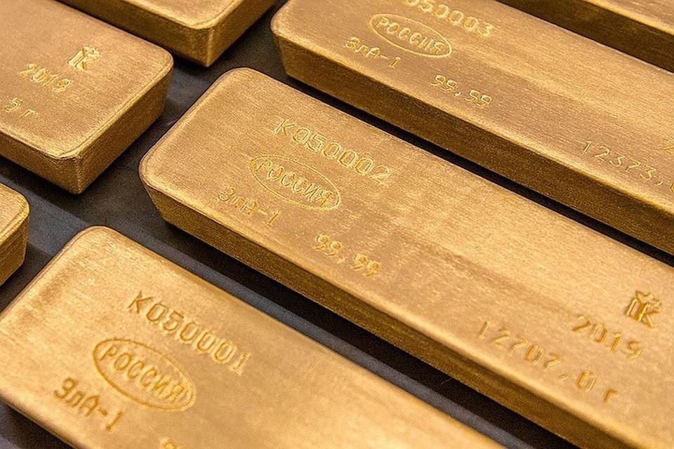Объем экспорта благородного металла в кризис вырос на порядок