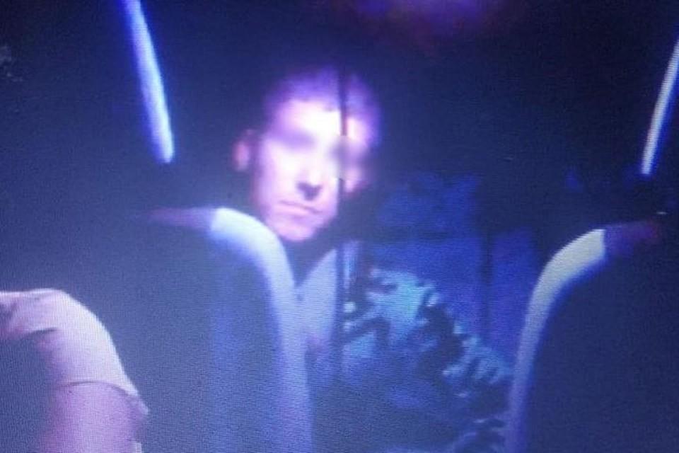 Установленный в машине регистратор запечатлел нападавшего. Фото: предоставлено коллегами пострадавшей.