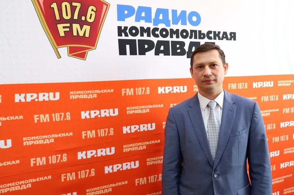Директор Территориального Фонда ОМС УР Павел Митрошин