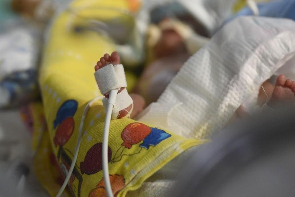Ребенок сначала поступил с асфиксией, а потом у него обнаружили побои.