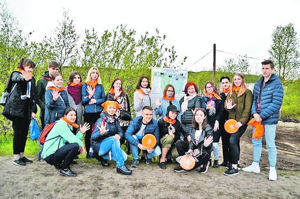 В Мурманске школьники оборудовали экологическую тропу, которая пользуется популярностью у горожан. Фото: АНО «Институт консалтинга экологических проектов»