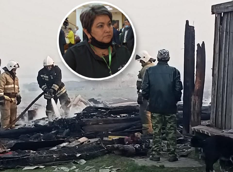 Без крова в том пожаре остались 15 семей.