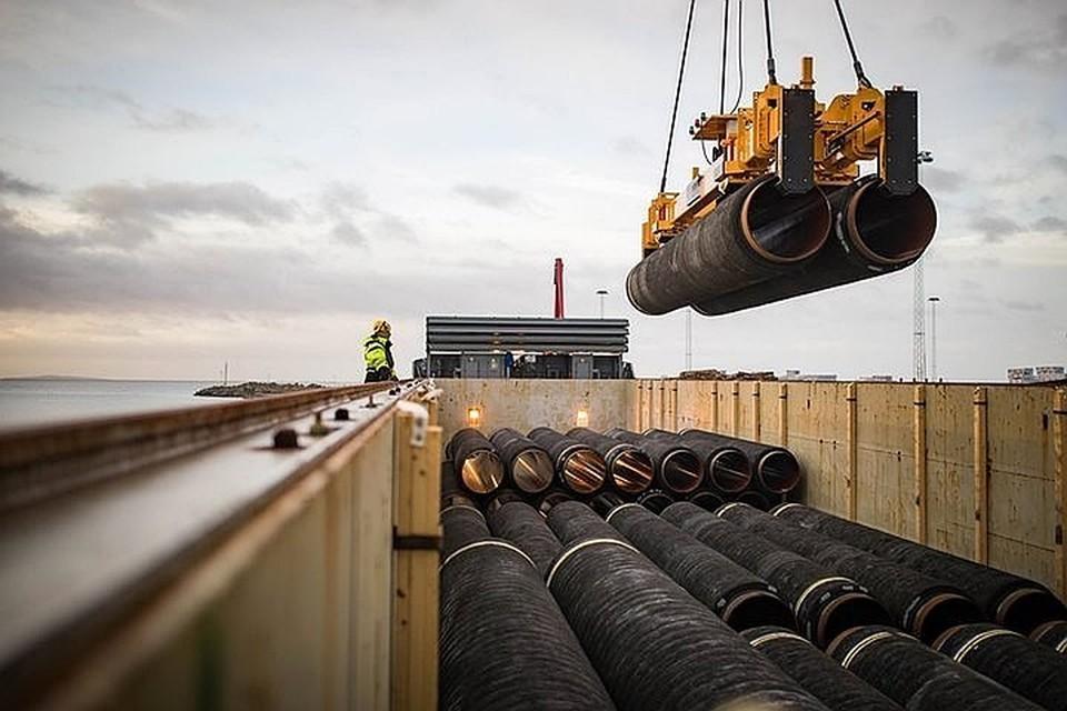 США ввели санкции против российских организаций и судов, участвующих в строительстве «Северного потока-2»