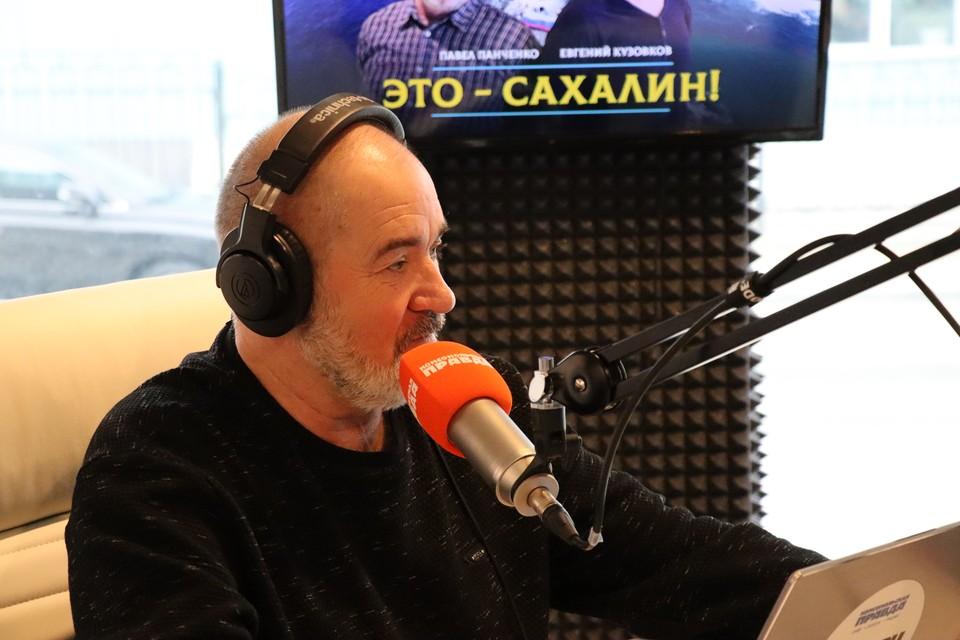 Радиоведущий Павел Панченко