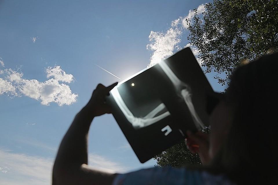 Солнечное затмение начнется в Северной Америке и закончится на Дальнем Востоке