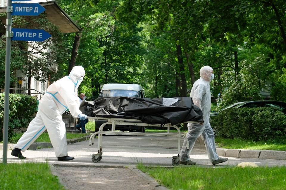 В Петербурге опять побит рекорд по смертности.