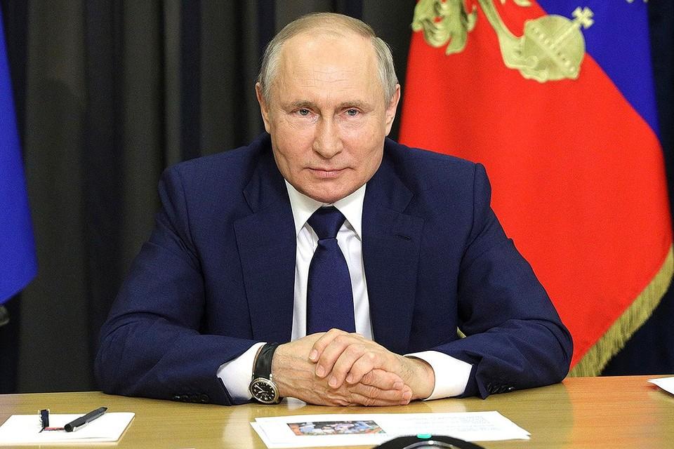 Владимир Путин заявил, что не считает украинский народ недружественным