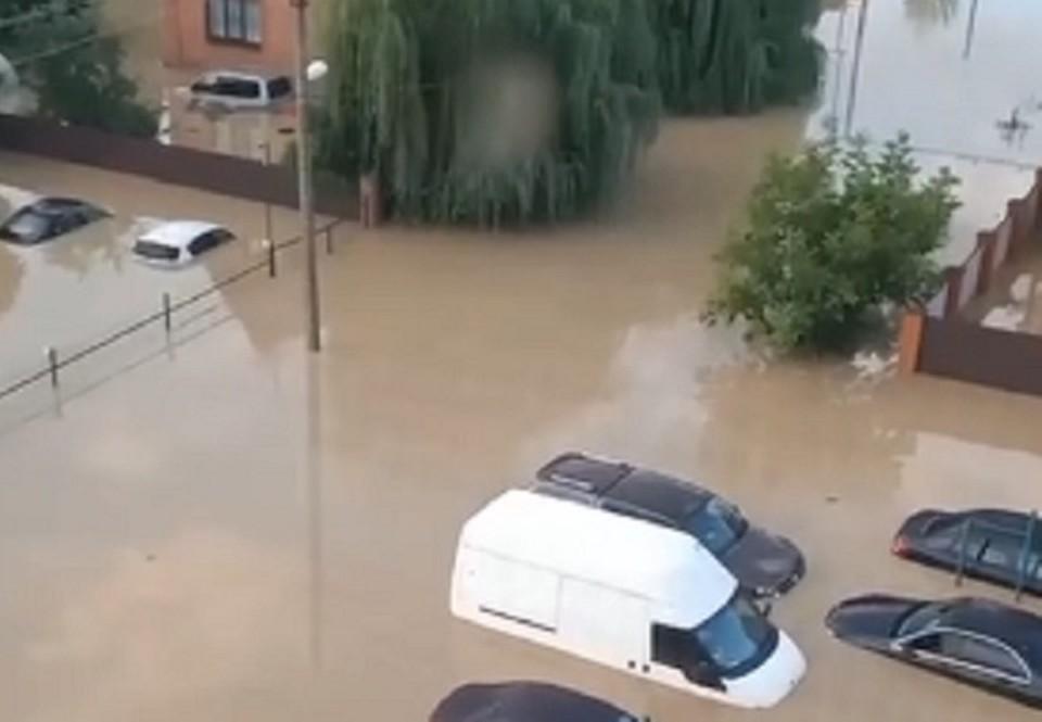 Сразу шесть районов на Кубани объявили о подтоплениях
