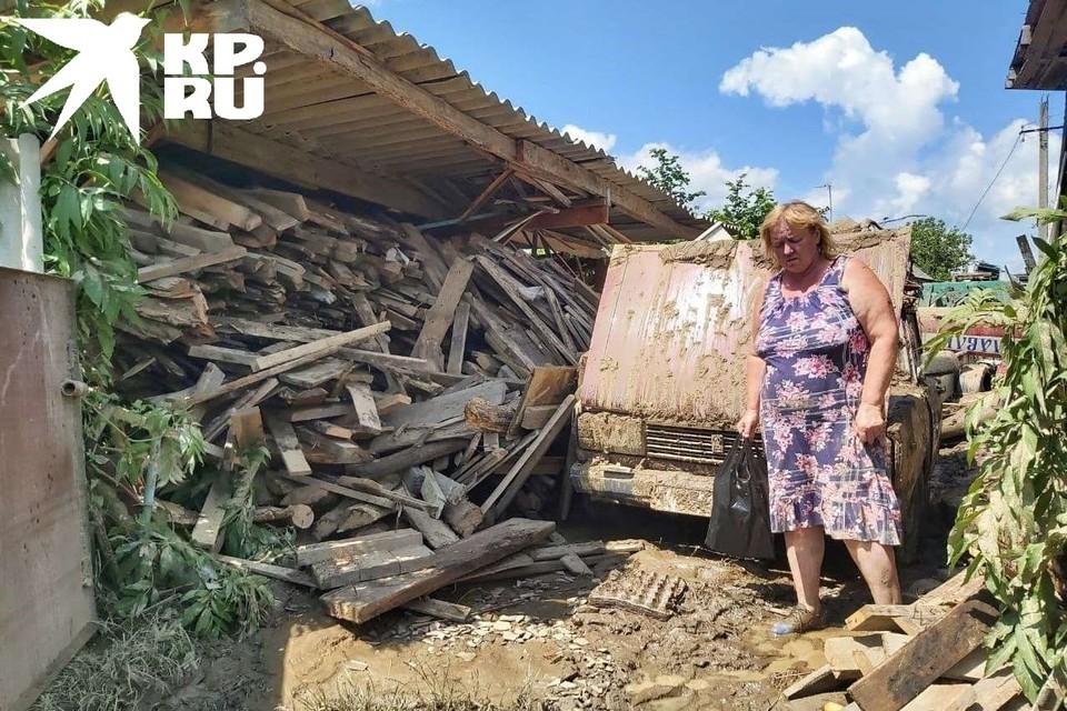 Как выглядит самый пострадавший район Краснодарского края после наводнения.