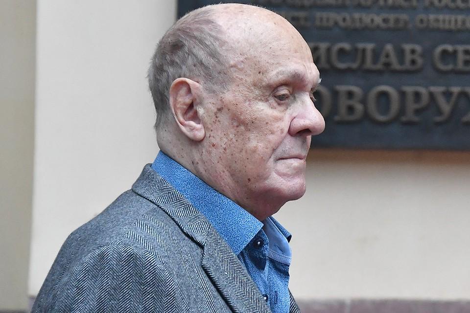 Владимир Меньшов на открытии памятной доски Станиславу Говорухину, осень 2020 г.
