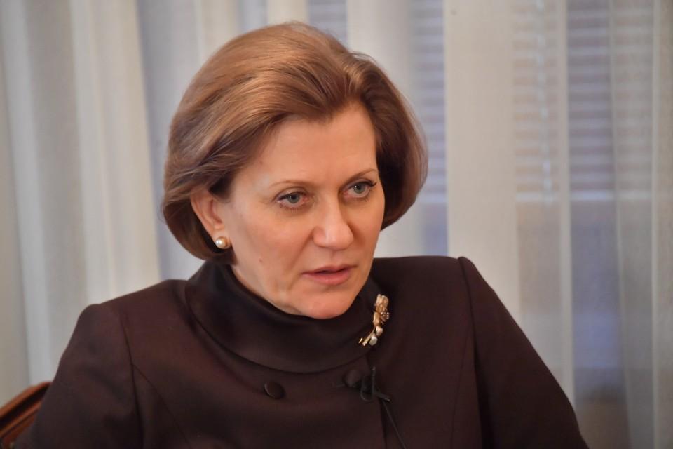 Глава Роспотребнадзора отметила, что граждане могут привиться любой из разработанных в стране вакцин.