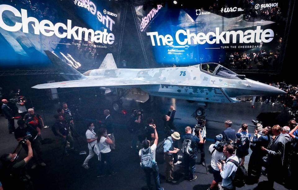 Российский однодвигательный истребитель Checkmate полетит в 2023 году Фото: Сергей Фадеичев/ТАСС