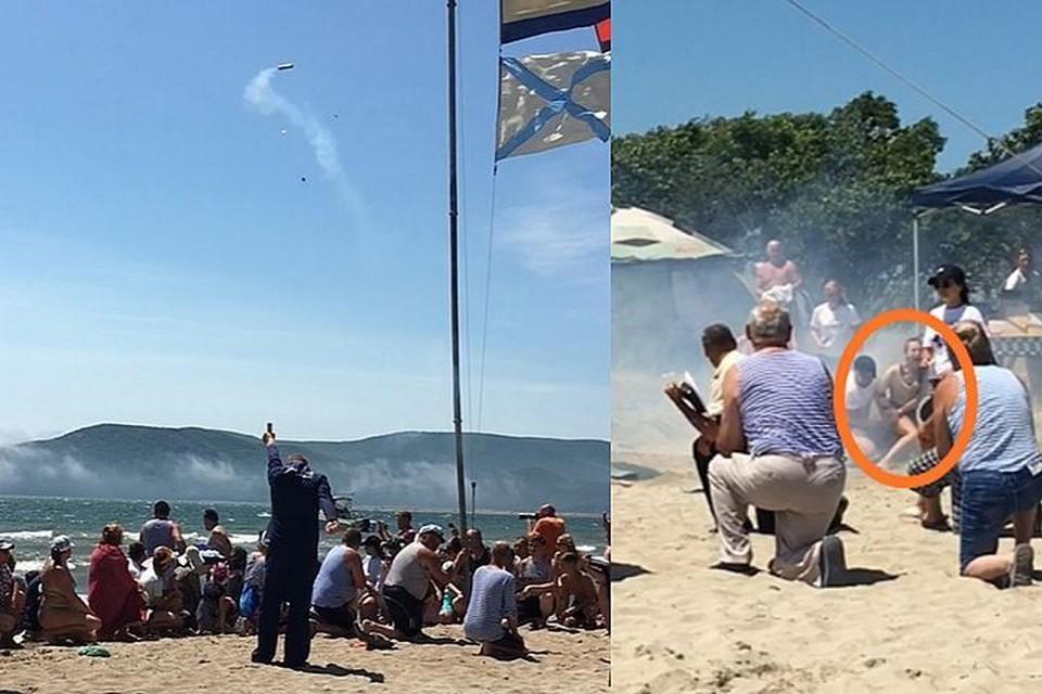 Происшествие случилось во время праздничной церемонии.