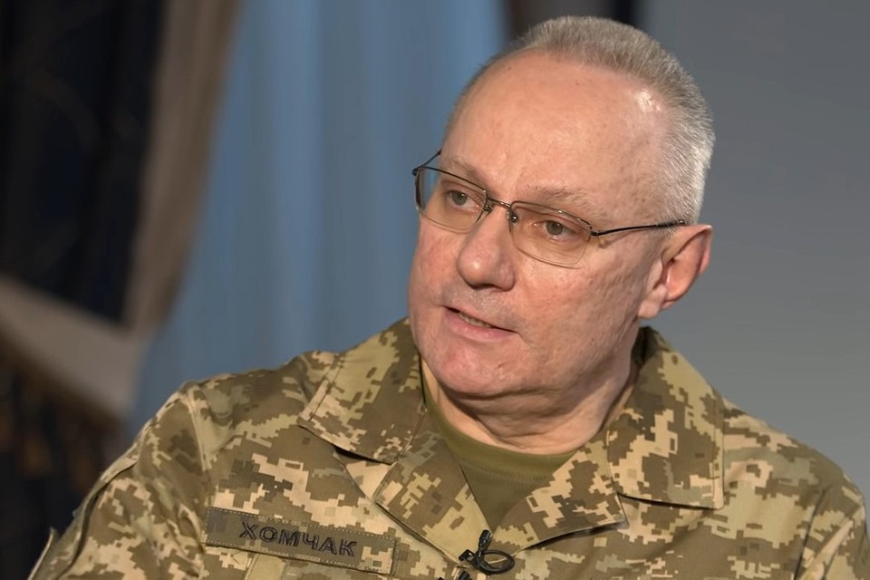 Начальник Генштаба Украины генерал Руслан Хомчак отправлен в отставку.