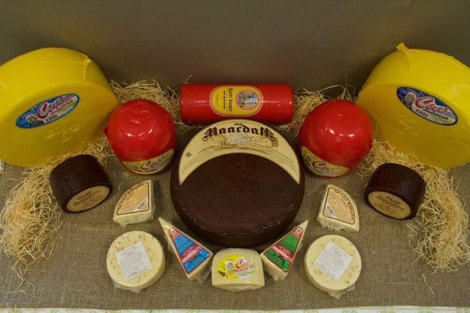 В линейке продукции Даниловского завода каждый наверняка найдет сыр себе по вкусу. ФОТО: Фото из архива завода