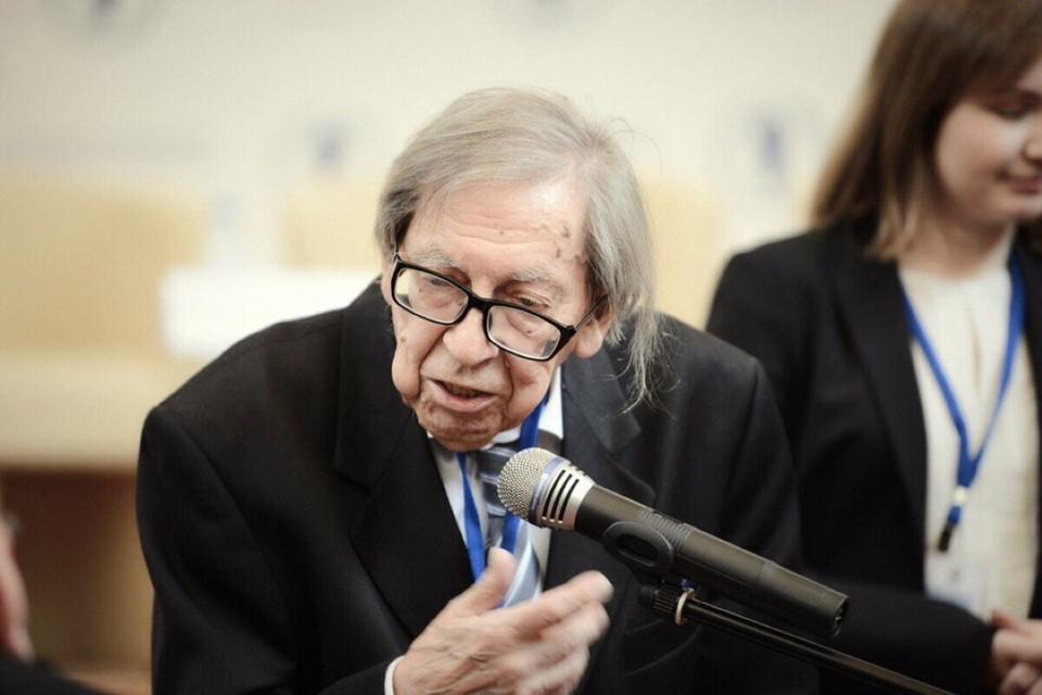 Ясена Засурского не стало на 92 году жизни. Фото: сайт факультета журналистики МГУ