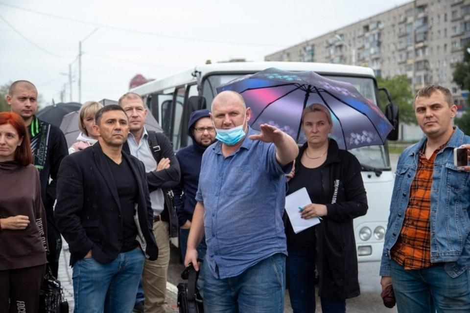 Жители района Пятой стройки интересовались содержанием дорог Фото: администрация Благовещенска