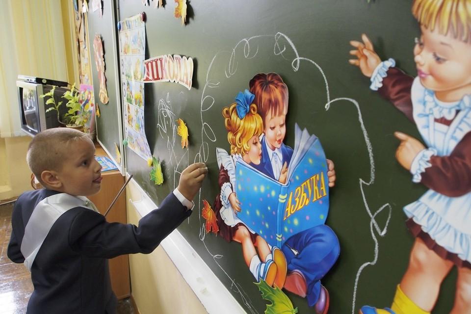 В этом году в России в первый раз в первый класс идет около миллиона детей