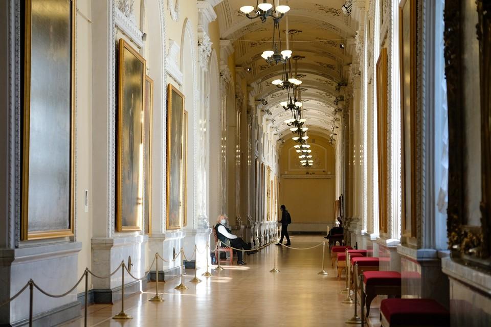 1 сентября Эрмитаж открыл дополнительные залы для посетителей