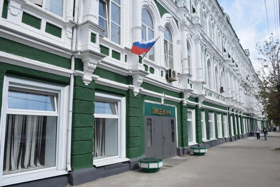 Здание татарской гимназии