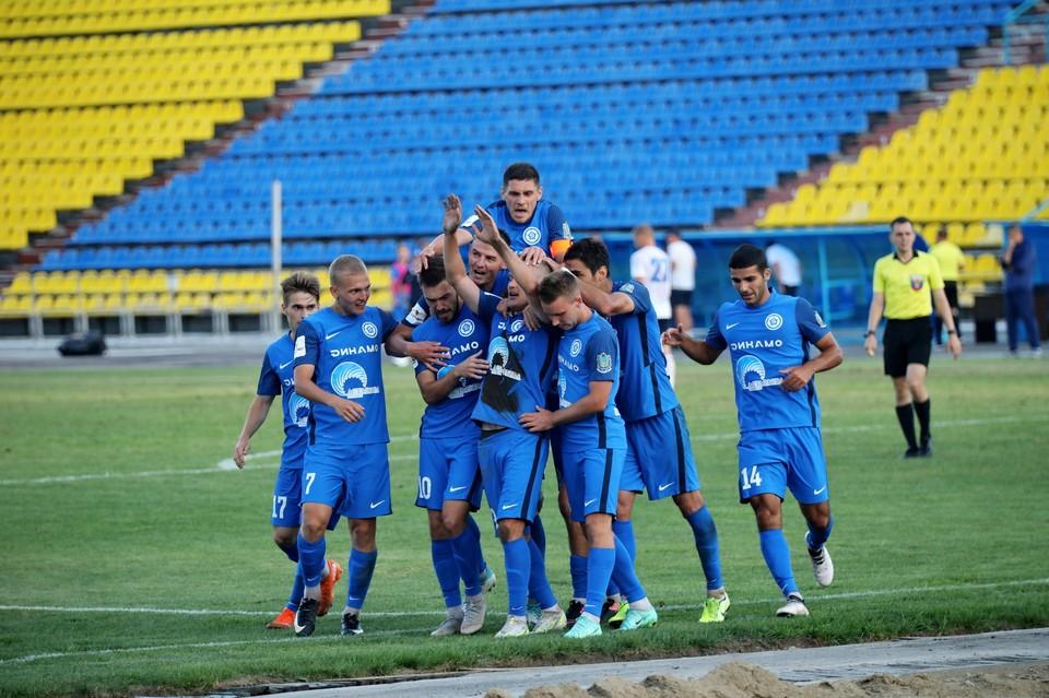 «Динамо-Владивосток» в первой домашней игре в своей истории одержал победу над саратовским «Соколом»