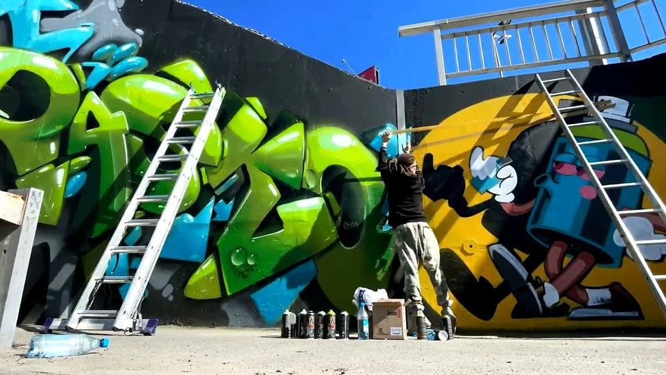 Когда не можешь победить, лучше возглавить! Мэрия проводит в областном центре граффити-баттл. Фото: сайт администрации Томска