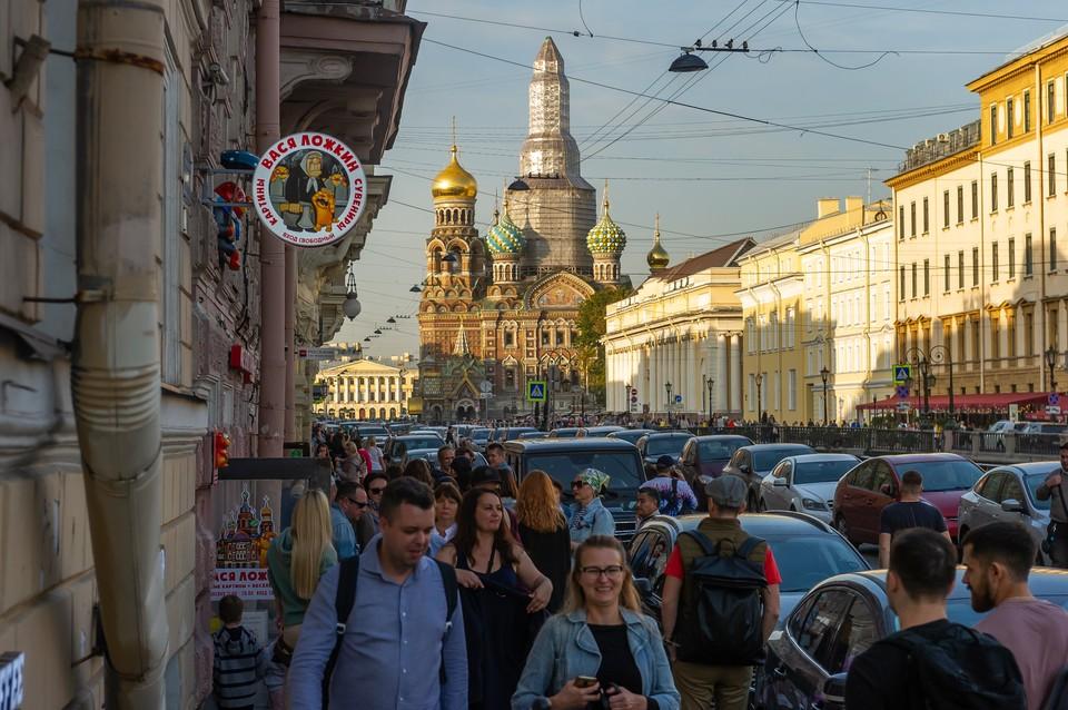 9-балльные пробки сковали Петербург