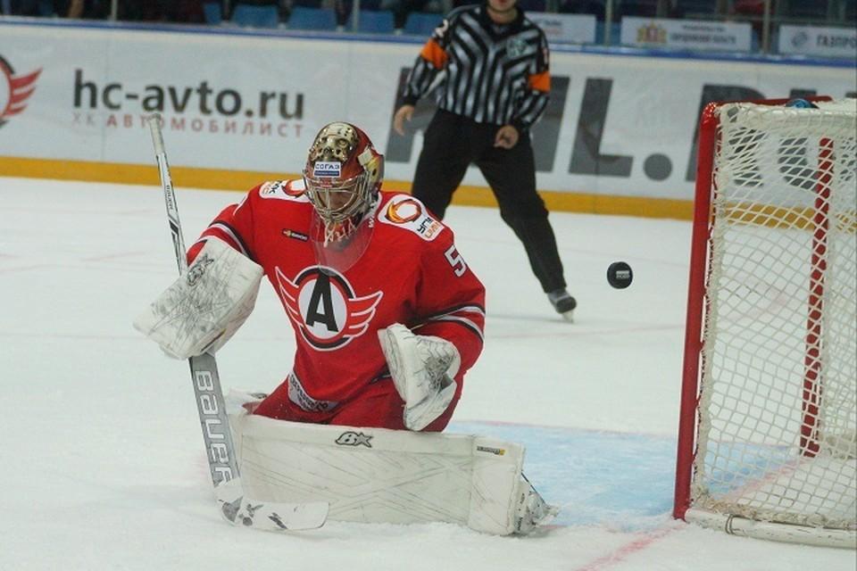 Уральцы потерпели поражение в домашнем матче