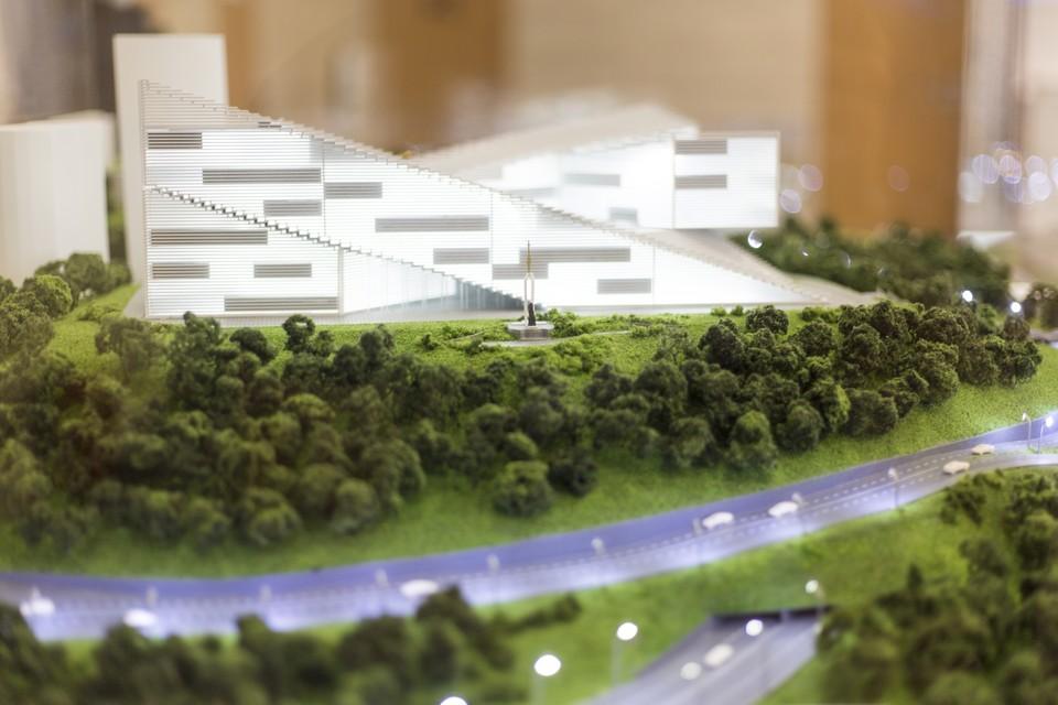Новый проект Театрально-музейного комплекса. Фото: Андрей Михайлов