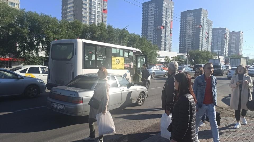 Пассажиры в аварии не пострадали