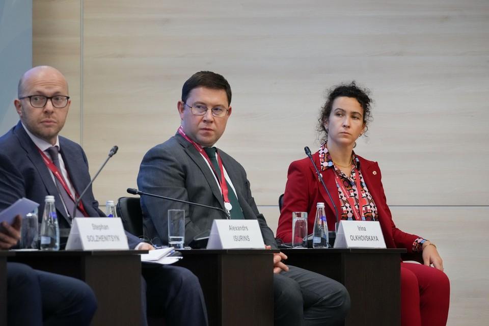 Компании АО «Восточный Порт» приняла участие в ВЭФ-2021.