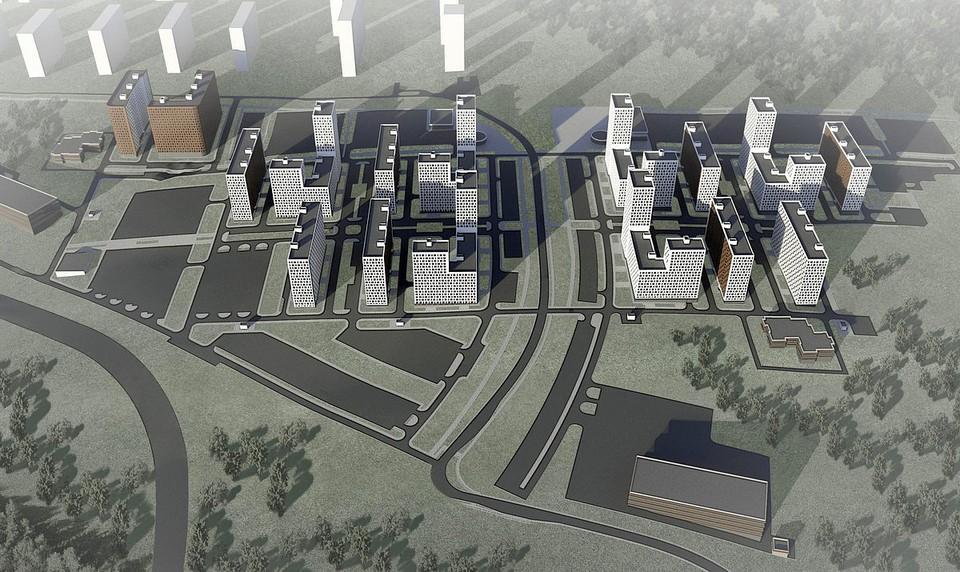 """Микрорайон """"Южный"""" в Кузнечихе начнут строить в 2023 году. ФОТО: """"Столица Нижний"""""""