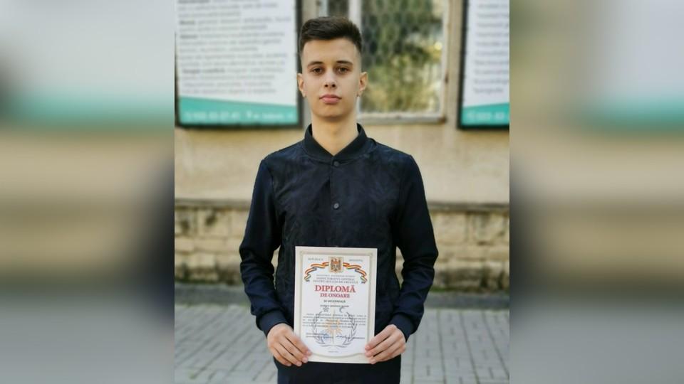 Максим Баранов получил почетный диплом за спасение утопающего