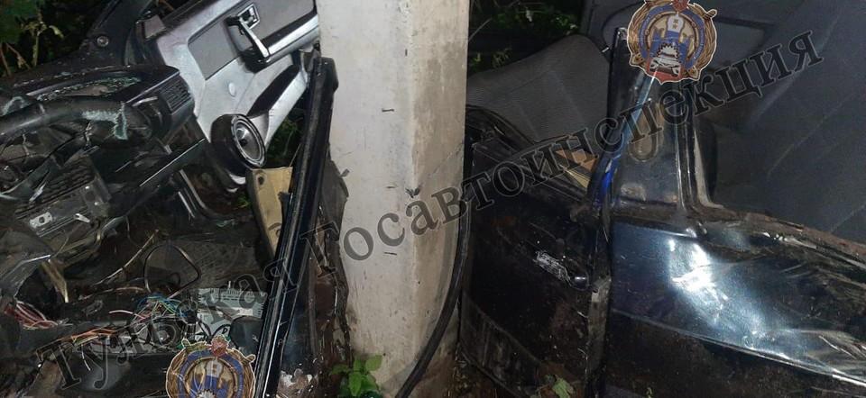 Авария случилась поздно вечером 3 сентября