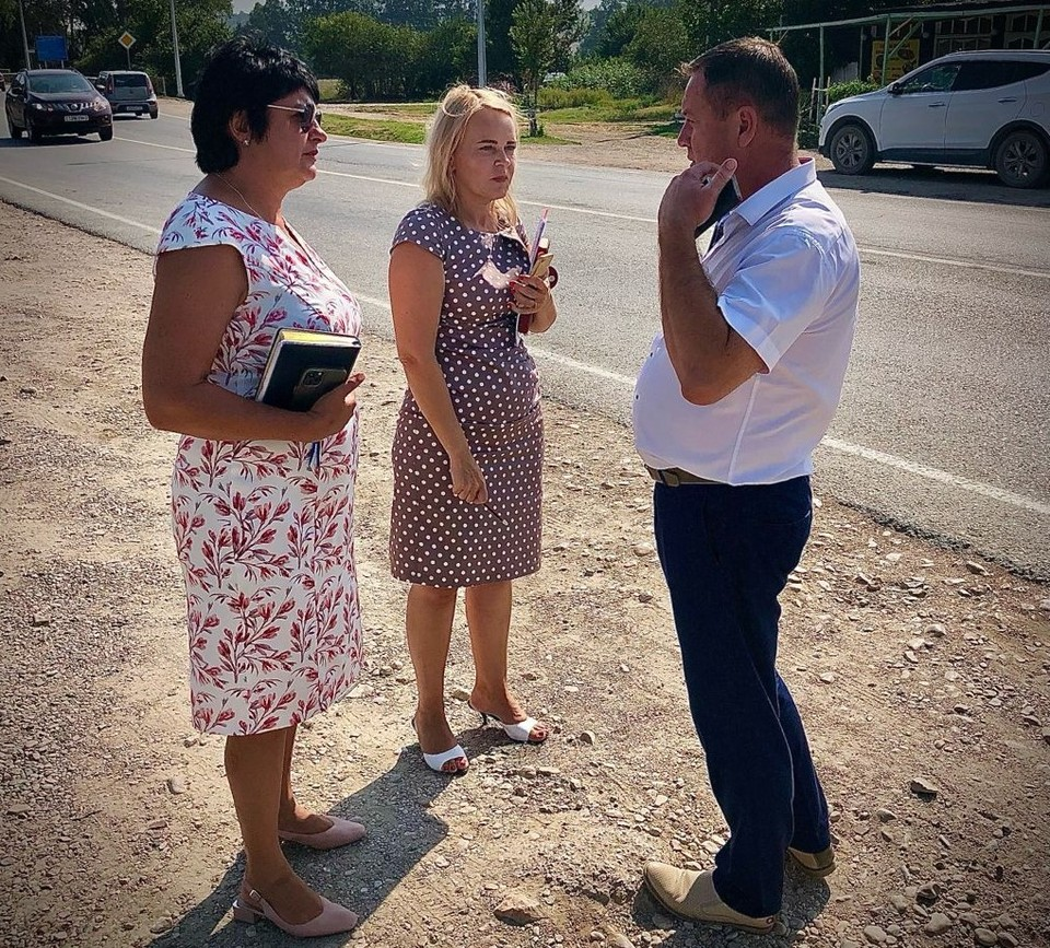Татьяна Лобач посетила села Орловка и Осипенко