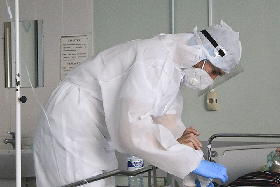 На 7 сентября на лечении в инфекционных госпиталях с лабораторно подтвержденной коронавирусной инфекцией находятся 2617 человек