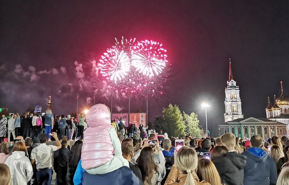 На День города туляков ждет грандиозный праздничный фейерверк