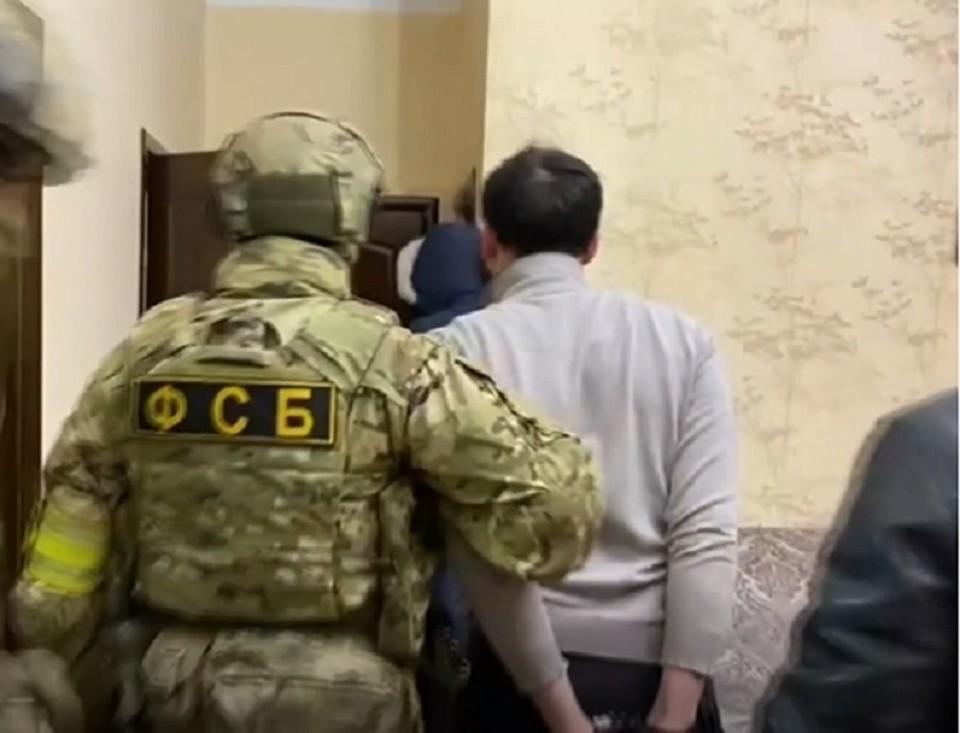 Диверсантов задержали представители ФСБ