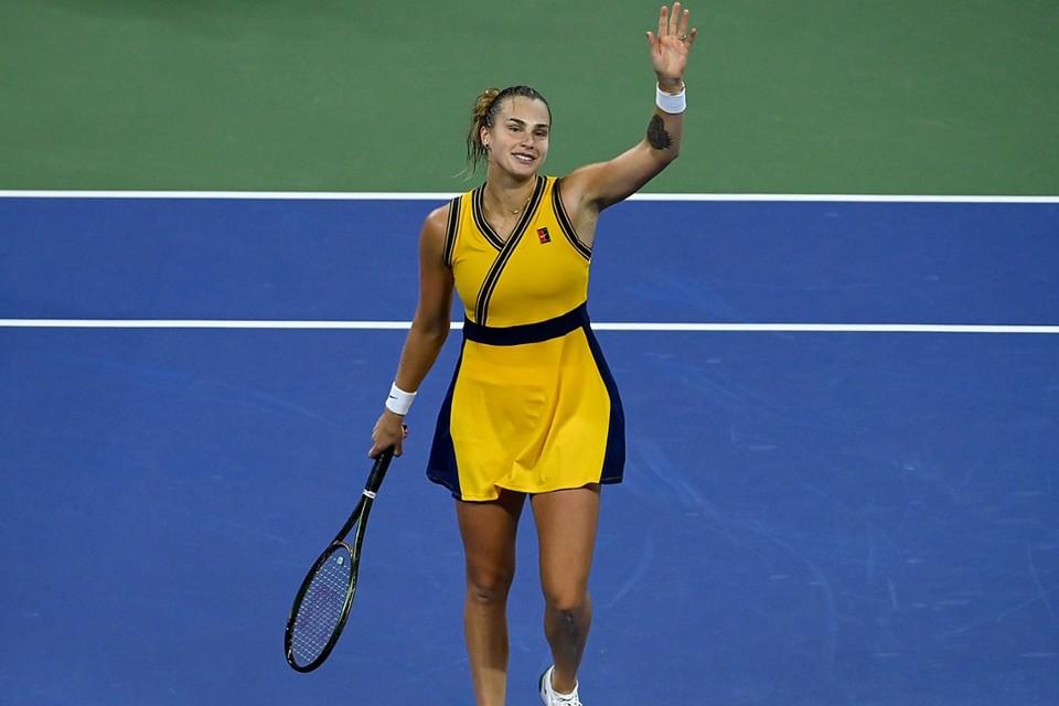 Арина Соболенка завоевала путевку в полуфинал US Open. Фото: Pete Staples/USTA