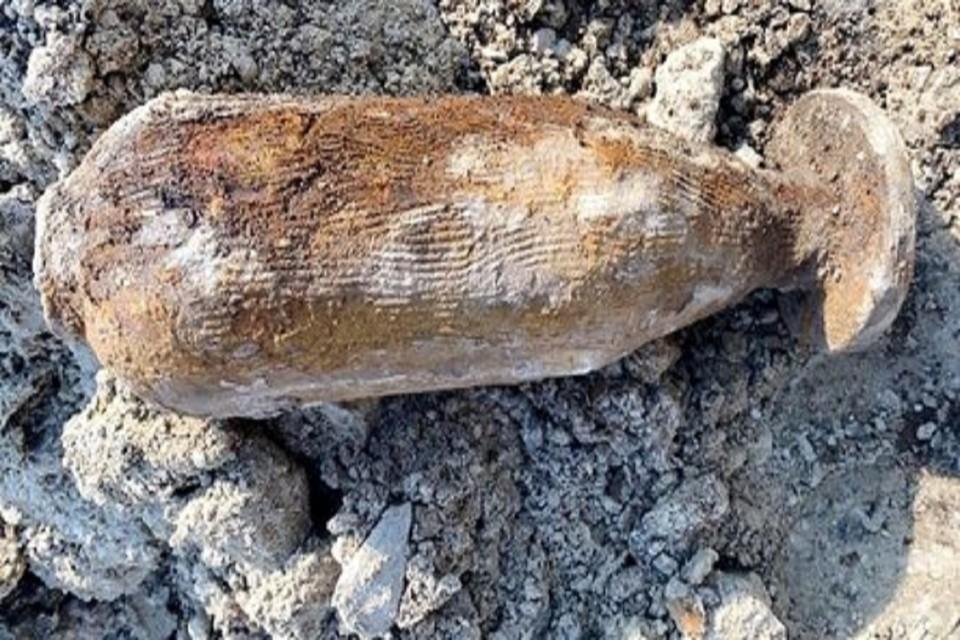 В Таганроге нашли снаряд времен ВОв